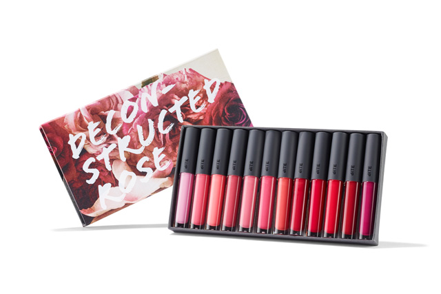 Beautiful image of deconstructed rose gloss